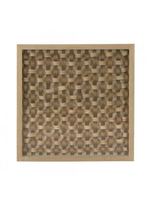 Abstract Wood Slice Wall Art