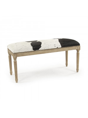 Lille Cowhide Bench