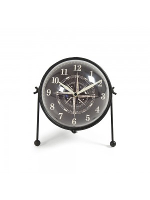 Round Iron Clock