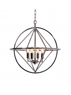 Geometric Metal Pendant Light