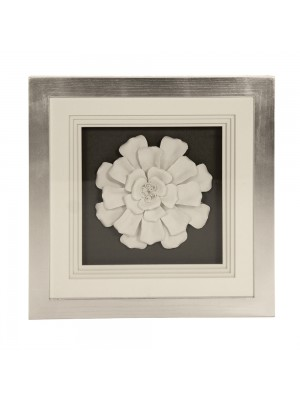 Ceramic Flower Wall Art
