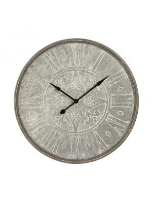 Wooden Frame Iron Clock