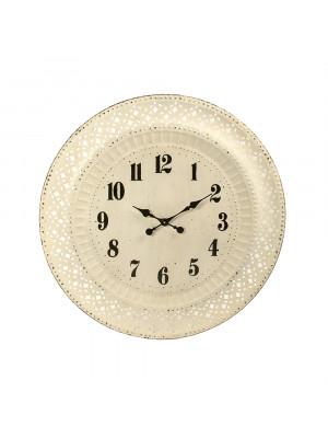 Iron Cutout Clock