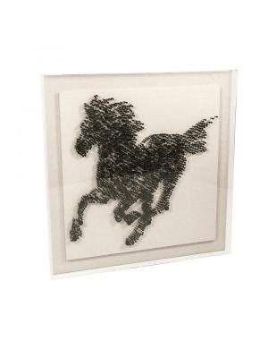 Abstract Horse in Acrylic Wall Art