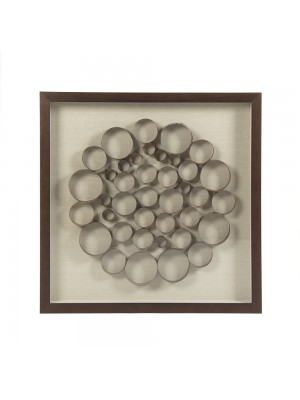 Abstract Rolled Wood Wall Art