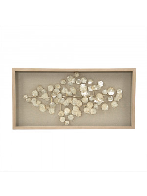 Abstract Mother of Pearl Wall Art