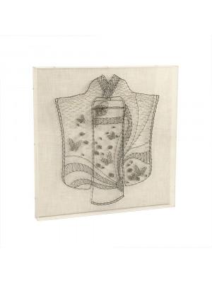 Kimono String Acrylic Frame Wall Art
