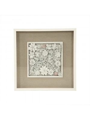 Abstract Ceramic Botanical Wall Art