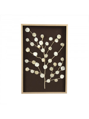 Abstract Mother of Pearl Tree Wall Art