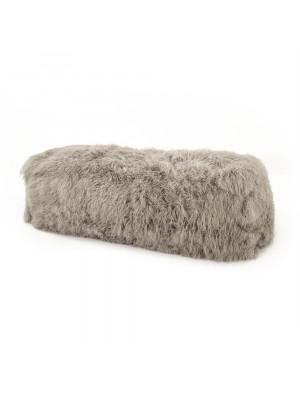 Tibetan Lamb Fur Bench